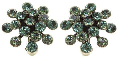 Konplott Mini Magic Fireball Ohrringe Clips Ohrclips Multi grün Farbbezeichnung magnetics green antique brass