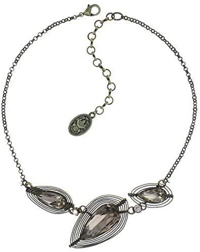 Konplott Kette Halskette Collier Amazonia - beige - antique brass