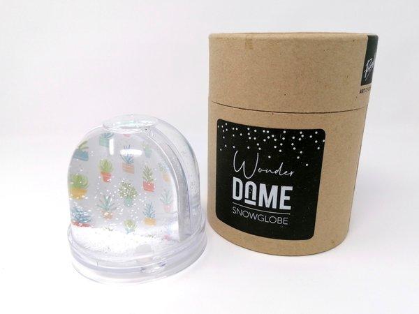 Wonder Dome Schneekugel by Paper Art, Motiv Neues Heim