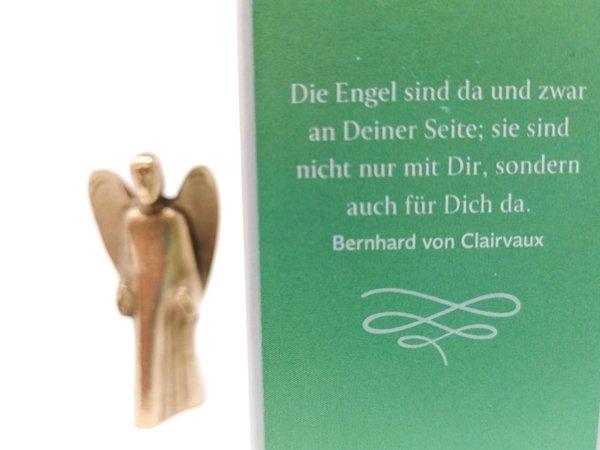 """Handschmeichler """"Du bist nicht allein"""" Bronze Maria Laach"""
