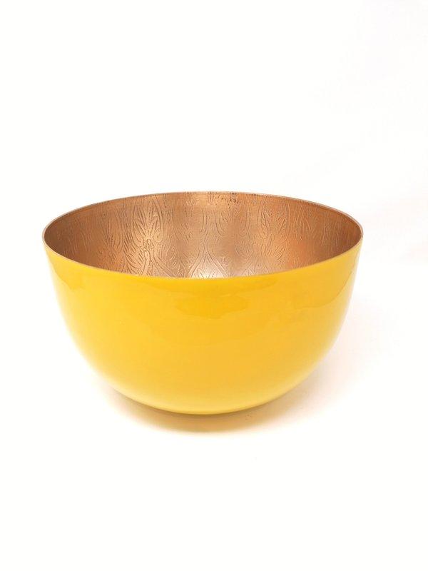 Schale Royal XL in senf/gold von imbarro
