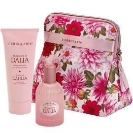 L´Erbolario Dalia, Geschenkset mit 50 ml Parfum und 100 ml Duschgel Duft Dahlie
