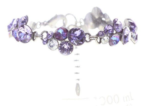 Konplott Armband Petit Glamour lila by Miranda Konstantinidou mit Swarovski Elementen