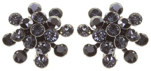 Konplott Mini Magic Fireball Ohrringe Clips Ohrclips grau Farbbezeichnung grau antique silver