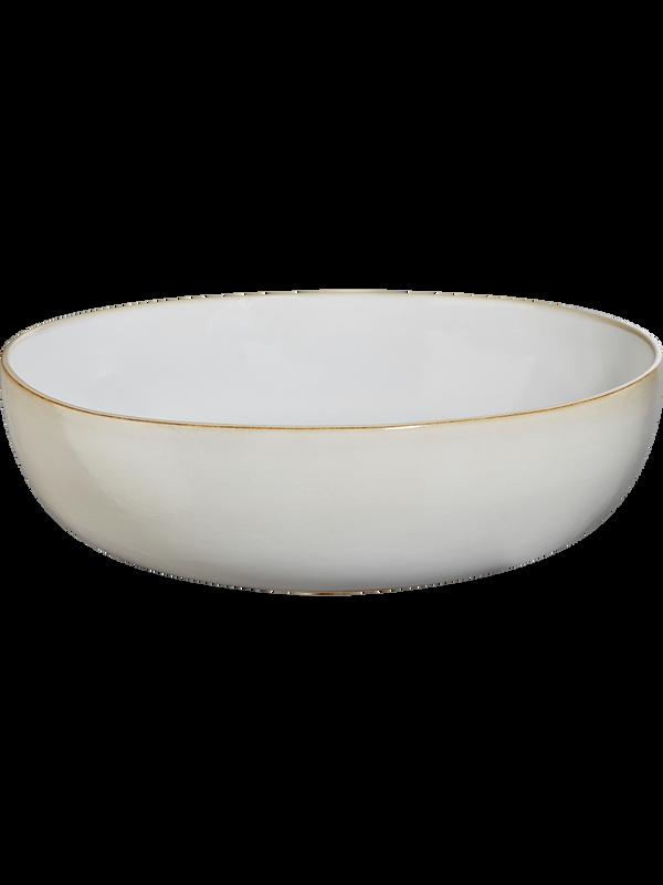 Schale Keramik aus der Kollektion Saisons von ASA Selection, Farbe: Sand, Handarbeit aus Portugal