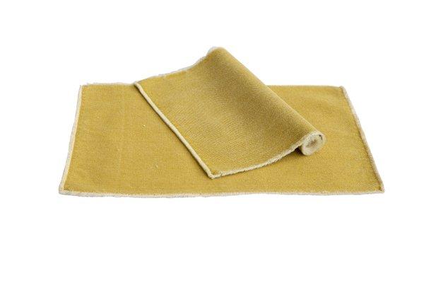 Pichler Tischset Suna Baumwolle Farbe strohgelb gelb SG 33*48 cm   Set von 2 Stück !   (Kopie)