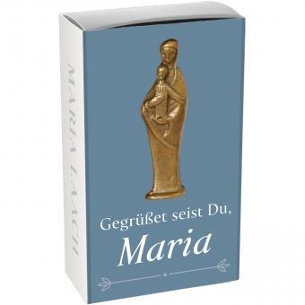 """Handschmeichler """"Gegrüßet seist Du, Maria"""" Bronze Maria Laach"""