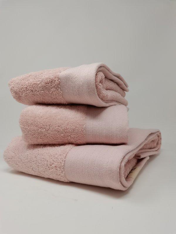 Walra Handtuch Set von 2 Stück in rosa