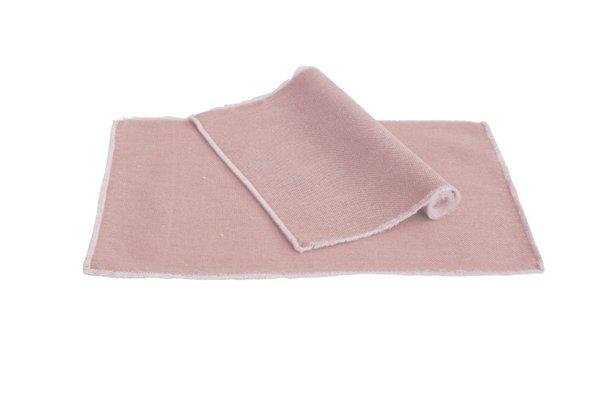 Pichler Tischset Suna Baumwolle Farbe Blossom rosa BM 33*48 cm   Set von 2 Stück !