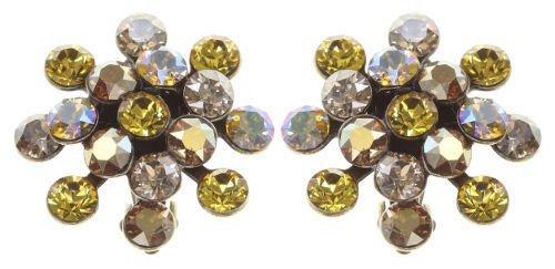 Konplott Mini Magic Fireball Ohrringe Clips Ohrclips gelb Farbbezeichnung golden gelb antique brass